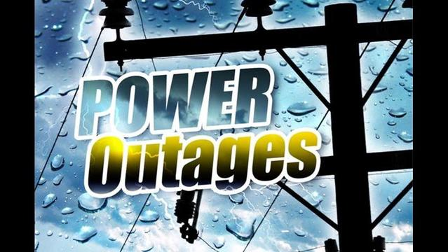 Storms Cause Power Outages- Tuesday, June 10th