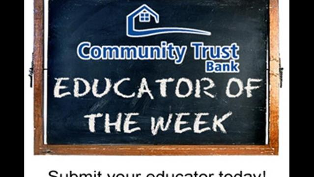 Community Trust Bank Educator of the Week: Andrea Sapp