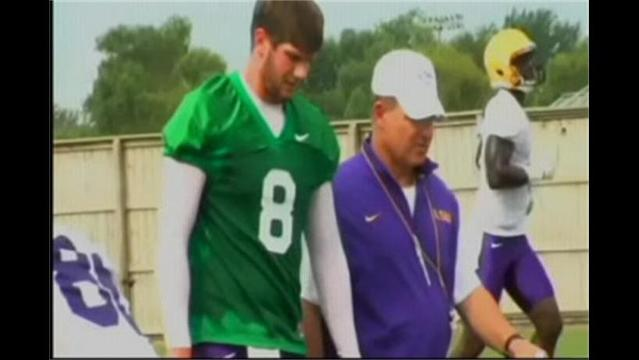 LSU Opens Training Camp