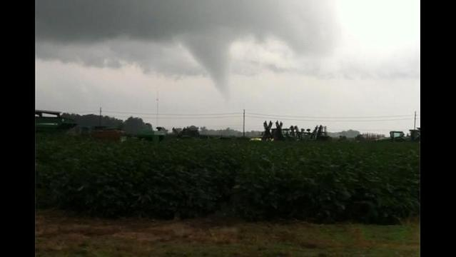 Funnel Cloud Caught on Camera