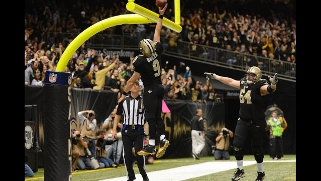Drew Brees Named NFL's FedEx Air Player of the Week