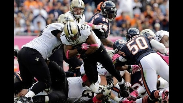 Saints RB Pierre Thomas Ruled Out of Saturday's Wild Card Game