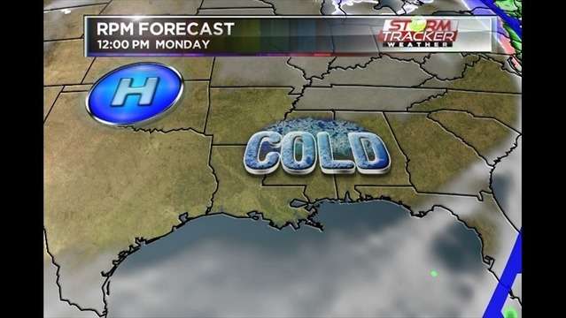 Hard Freeze Expected Early Next Week