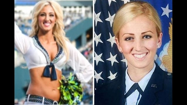 Seattle Seahawks Cheerleader Also Serves As Air Force First Lieutenant