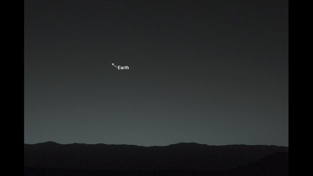 WEB EXTRA: Curiosity Rover Takes Snapshot Of Earth From 100 Million Miles Away On Mars