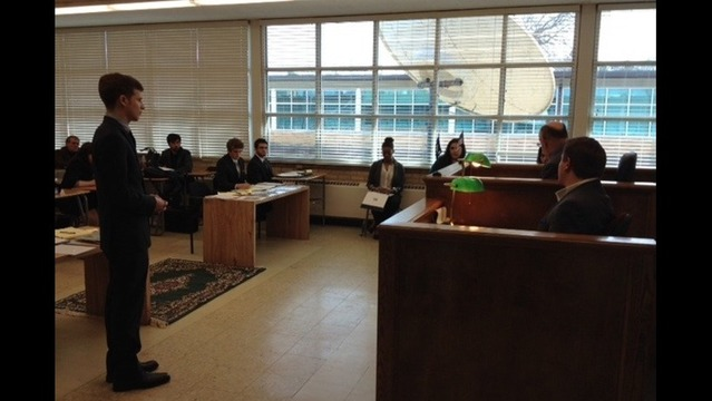 5th Graders to See Mock Trial
