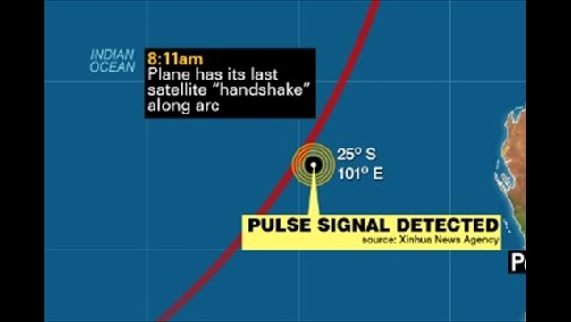 Pulse Signal, New Objects Discovered in Search for Malaysia Airlines Flight 370