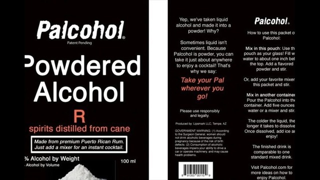 Instant Powdered Alcohol Approved by Feds