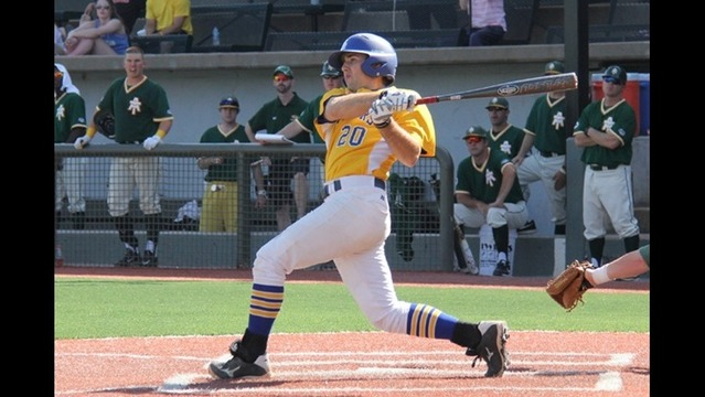 Rucker's two homeruns and five RBIs lift SAU past Arkansas Tech to stay alive in GAC Tournament