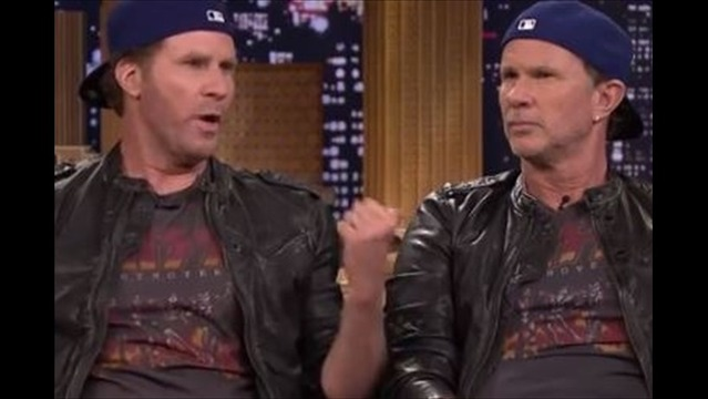 Will Ferrell and Red Hot Chili Peppers' Chad Smith Settle Feud in Epic Drum-Off