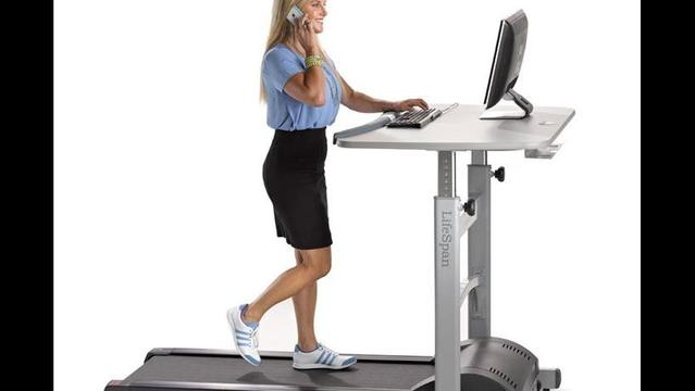 Got a desk job? Move it! (Not the desk, dummy, yourself!)