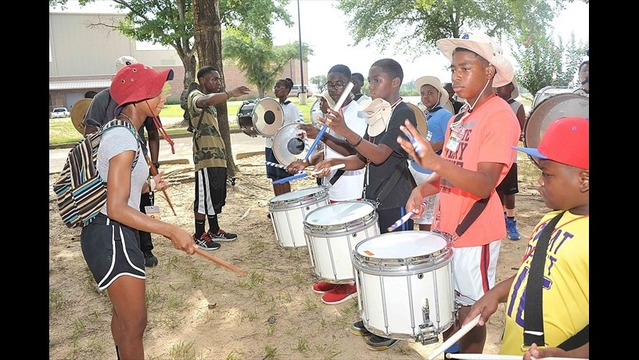 Sounds of Music Heard Around Grambling State University 54th Annual Band Camp