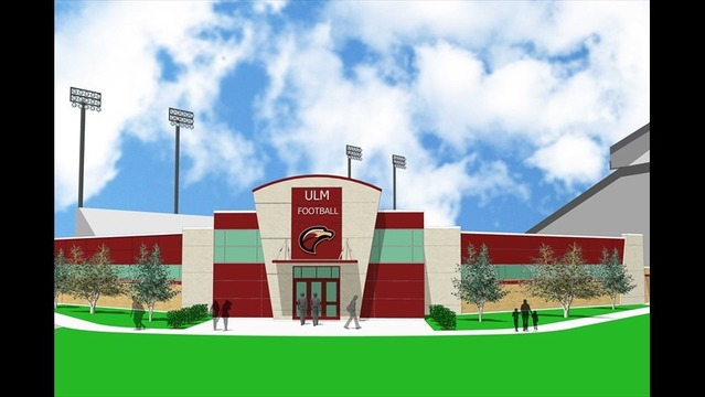 ULM Athletics Announces End Zone Facility Project