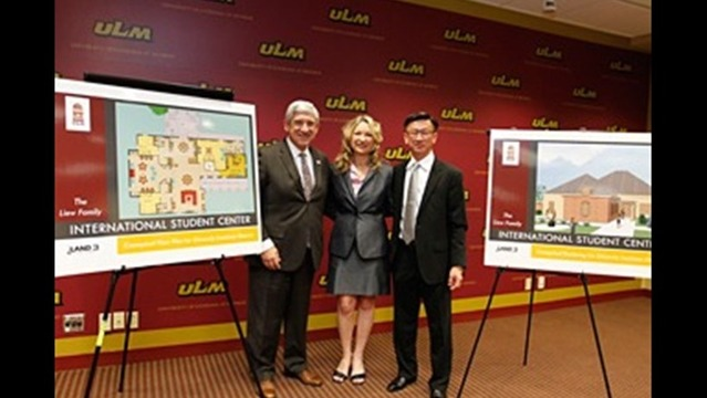 ULM International House Groundbreaking Ceremony