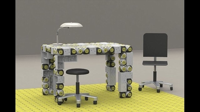 Robot Furniture that Builds Itself