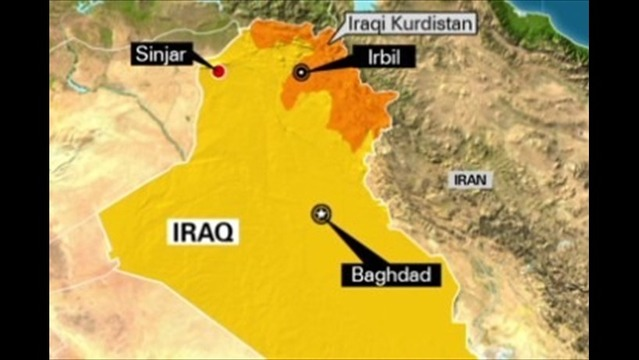 U.S. Jet Fighters Carry Out Second Round Of Airstrikes Against Isis in Iraq