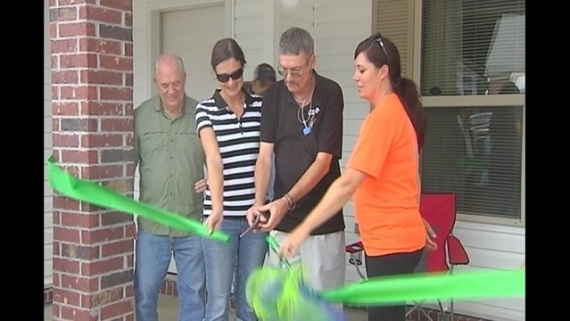 Veteran Moves Into Donated Home