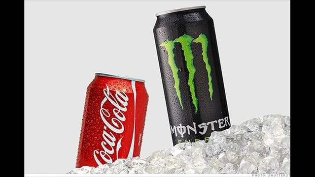 Coca-Cola Takes a Big Gulp of Monster