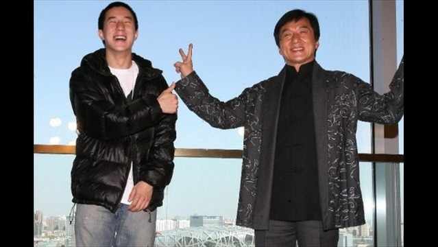 Jackie Chan's Son Held in Anti-Drugs Crackdown in China's Capital