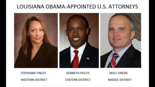 Two of three Louisiana Obama appointed U.S. Attorneys step-down