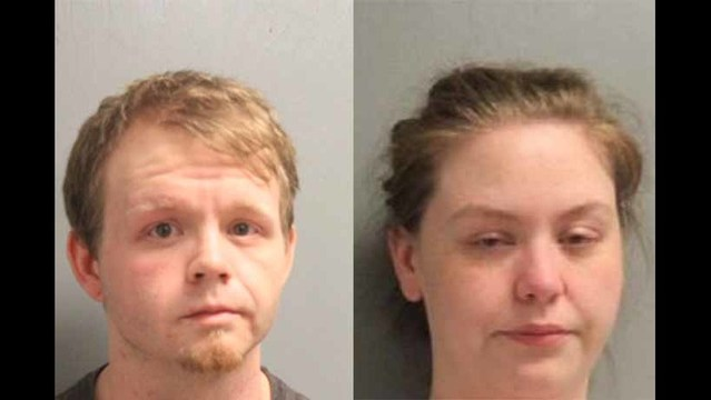 Child burned in several places on its body; Two arrested