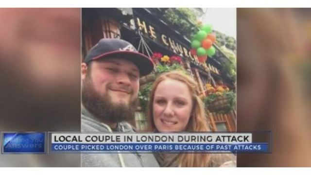 Mississippi couple on honeymoon in London visited Parliament the morning of the attack