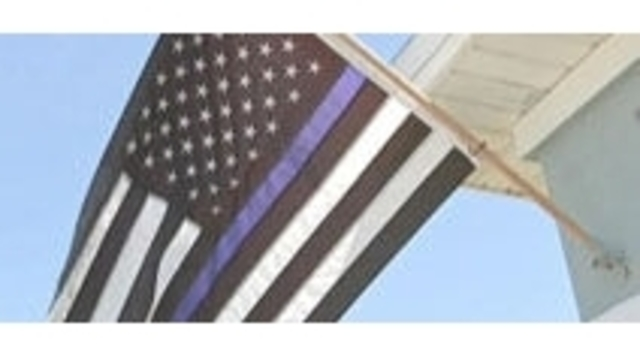 Blue Lives Matter flag deemed racist, ordered to come down
