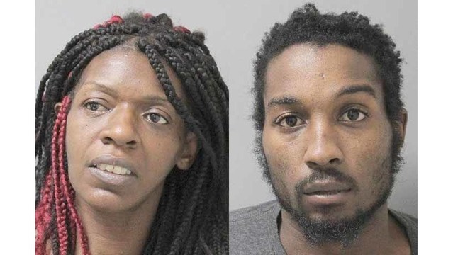 Two arrested after marijuana found on 10-year-old