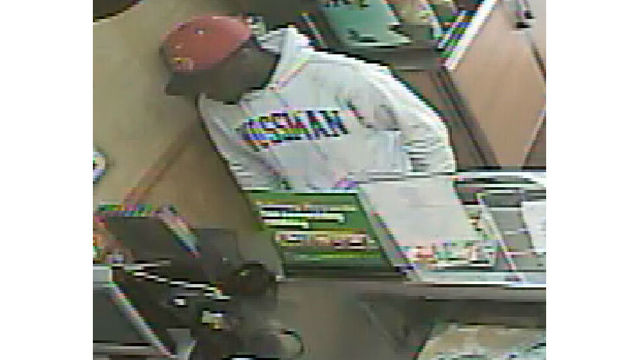 Monroe Police searching for Subway robbery suspect