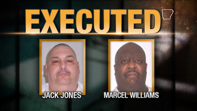 Arkansas Carries Out First Double Execution in Two Decades
