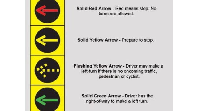 Left turn light changes coming to region: Watch for the blinking yellow