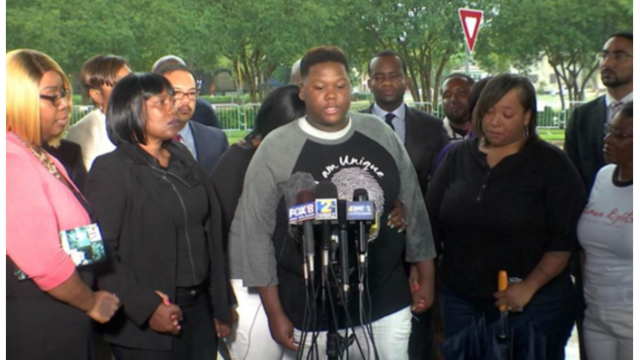 Alton Sterling's family files suit against city and police department