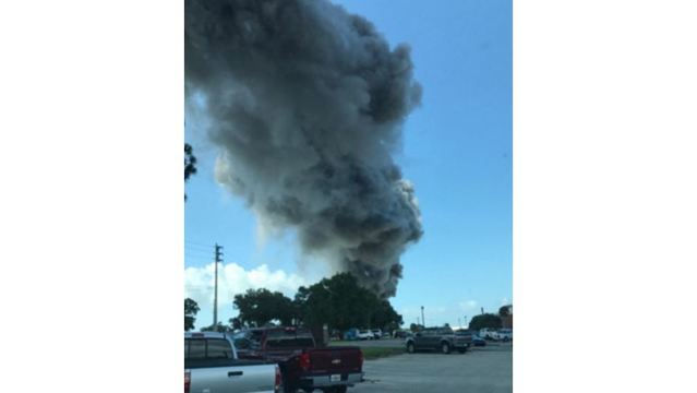 Explosion at lab causes evacuation at Eglin AFB in Florida Panhandle