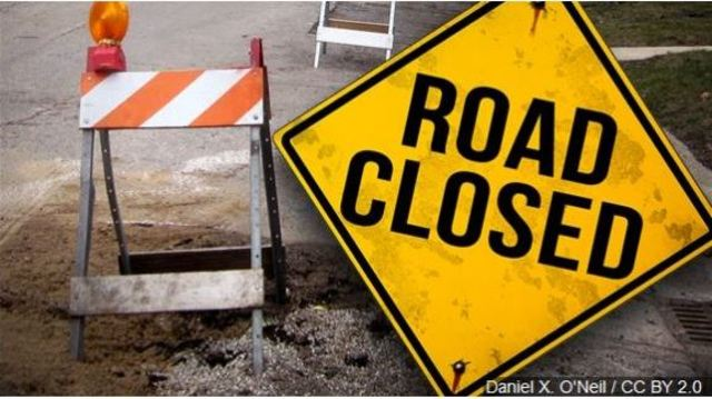 Arkansas Road scheduled for temporary closure