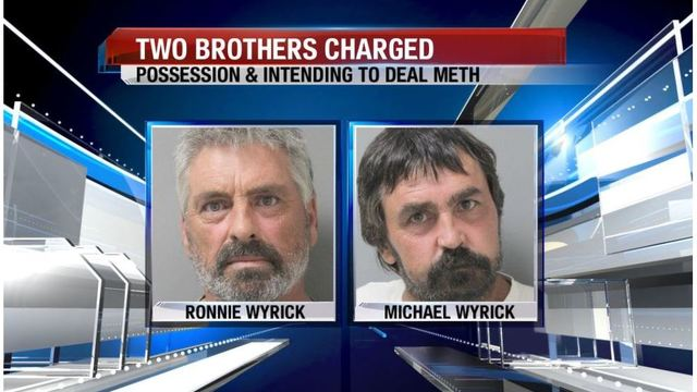 Two brothers face meth charges in Ouachita Parish