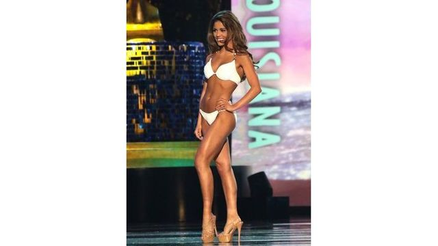 Miss America: Miss Louisiana wins swimsuit competition