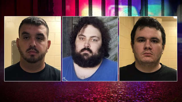 3 Louisiana men arrested on Child Pornography charges