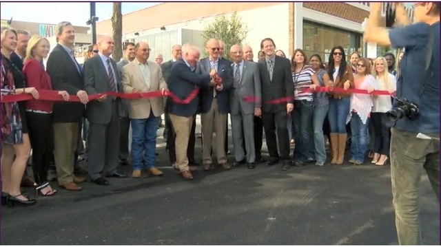 Ribbon cutting for Murphy Arts District Held today