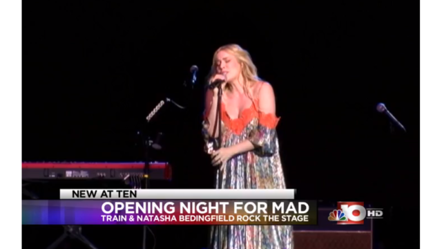 Murphy Arts District hosts concerts featuring Train and Natasha Bedingfield