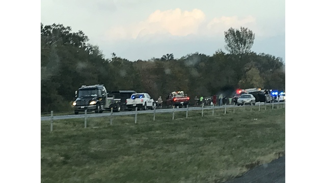 10 Cows killed in crash on I-20 in Rayville
