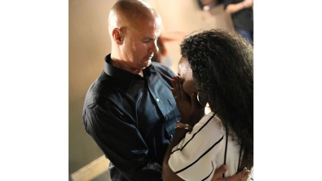Popular Little Rock police officer Tommy Norman pops the question