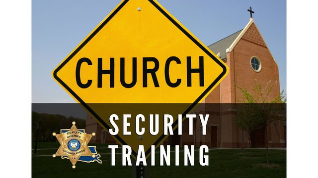 Change of venue for church security training