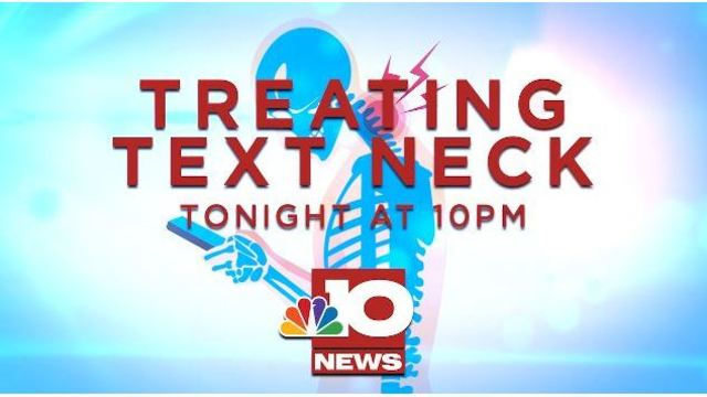 TONIGHT AT 10: Text Neck can cause major health concerns