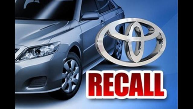 Toyota Recalls 3 37 Million Cars Over Airbag, Emissions Control Issues