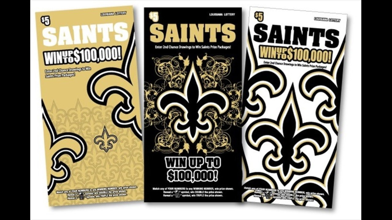2014 SAINTS Scratch-off Offers $100,000 Top Prize Plus New Game-Day