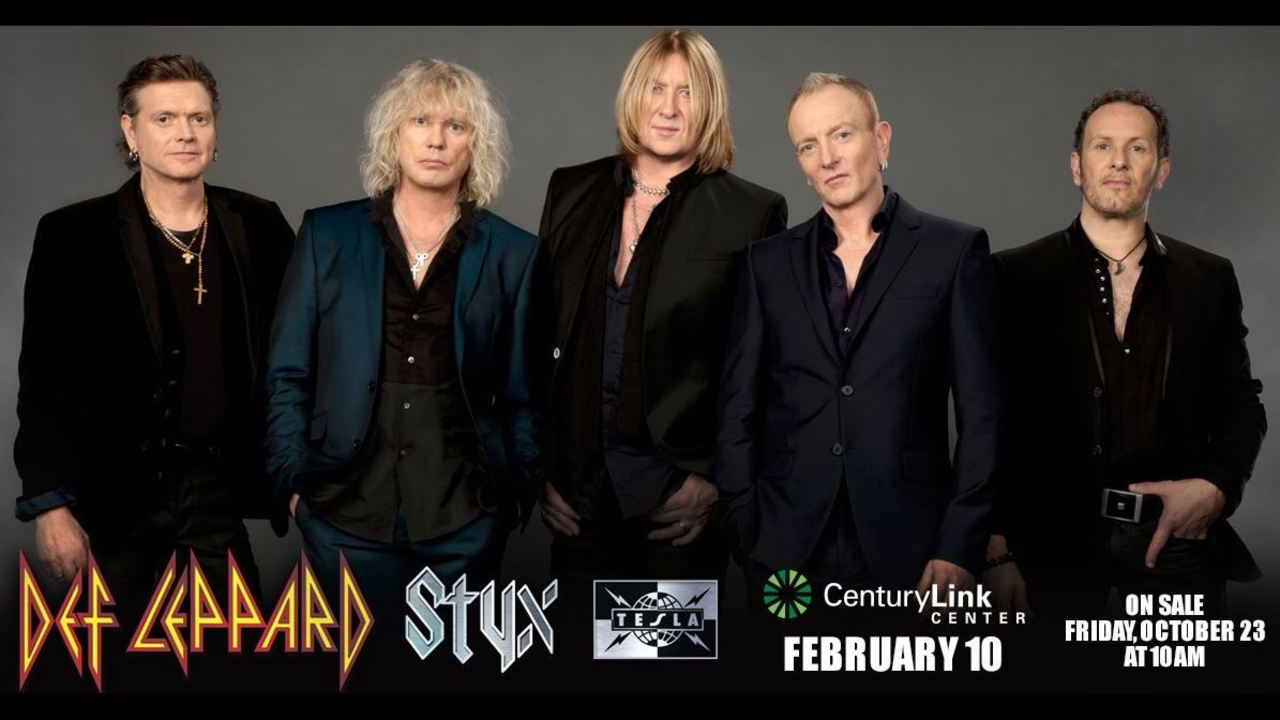 Def Leppard Coming To Bossier City Feb 10