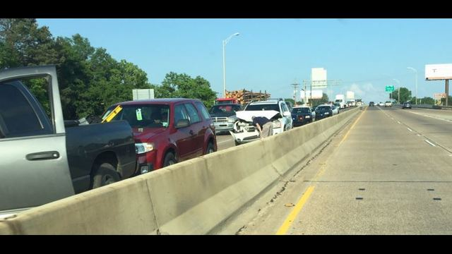 TRAFFIC ALERT: I-20 west bound backed up due to accident