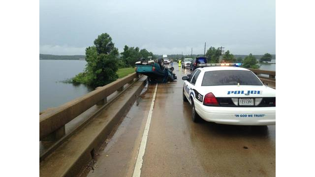 Bridge reopened after rollover accident