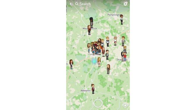 Snapchat users should use caution with new update