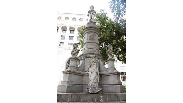 Draft recommendation calls for removal of Caddo Confederate monument